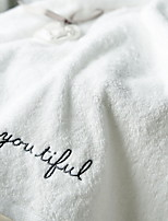 abordables -Qualité supérieure Serviette de bain, simple / Géométrique Polyester / Coton 1 pcs