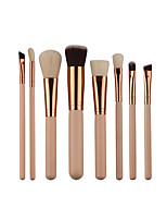 economico -8pcs Pennelli per il trucco Professionale Set di pennelli Fibra di nilon Ecologico / Soffice Legno / bambù