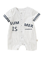 cheap -Baby Girls' Striped Short sleeves Overall & Jumpsuit