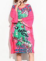 abordables -Tee-shirt Femme, Géométrique - Coton