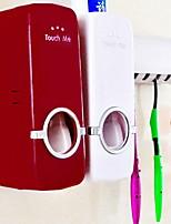 Недорогие -Зубная паста соковыжималка Прост в применении / Многофункциональный Современный / Мода Пластик 1pack Зубная щетка и аксессуары