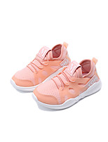 cheap -Girls' Shoes Tulle / PU Spring & Summer Comfort Athletic Shoes Running Shoes / Walking Shoes for Kids / Toddler White / Black / Pink