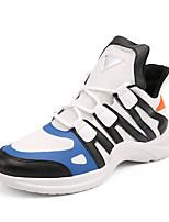 cheap -Men's Shoes Tulle Summer Comfort Sneakers White / Black / Blue