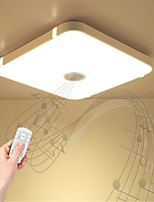 cheap -1pc 24W 48 LEDs Bluetooth Speaker / Remote Control / RC / Dimmable LED Ceiling Lights Warm White / Cold White / Natural White 220-240V