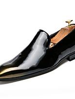 Недорогие -Муж. обувь Искусственное волокно Лето Удобная обувь Мокасины и Свитер для на открытом воздухе Золотой Черный Серебряный Красный