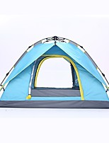 cheap -Shamocamel® 3 - 4 person Backpacking Tent Double Layered Automatic Dome Camping Tent Outdoor Rain-Proof, Windproof for Fishing / Camping / Hiking / Caving / Picnic 2000-3000 mm Glass fiber