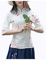 cheap -women's shirt - floral stand