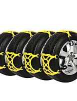 cheap -12pcs Car Snow Chains Business Buckle Type For Car Wheel For universal All Models All years