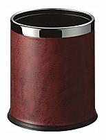 abordables -Cuisine Les fournitures de nettoyage faux cuir Poubelle simple 1pc