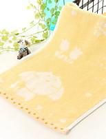 Недорогие -Высшее качество Полотенца для мытья, Жаккард / Мультипликация Полиэстер / Хлопок 1 pcs