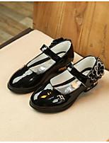 Недорогие -Девочки Обувь Дерматин Весна & осень Удобная обувь Обувь на каблуках для Черный / Розовый / Светло-Розовый