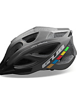 cheap -GUB® Adults Bike Helmet 18 Vents CE / CPSC Impact Resistant, Adjustable Fit, Removable Visor EPS, PC Sports Cycling / Bike - Black / Red / Dark Gray