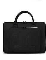Недорогие -Шерсть Сплошной цвет Сумочки 14-дюймовый ноутбук / iPad