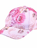 cheap -Women's Party Active Polyester Ski Hat Sun Hat Baseball Cap - Floral Houndstooth