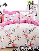 cheap -Duvet Cover Sets Floral 100% Cotton Printed 3 Piece