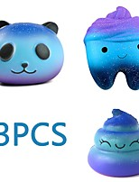 cheap -MINGYUAN Stress Reliever Panda Parent-Child Interaction / Decompression Toys / Lovely 3pcs All Gift