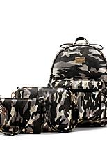 cheap -Women's Bags PU Leather Bag Set 3 Pcs Purse Set Beading / Rivet / Pattern / Print for Outdoor Gray / Purple / Light Green