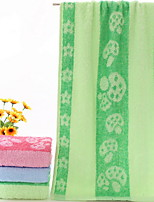 abordables -Qualité supérieure Serviette, Jacquard / Couleur Mélangée Polyester / Coton 1 pcs