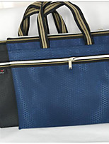 cheap -Women's Bags Polyester Tote Zipper for Outdoor Blue / Black