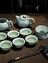 cheap -9pcs Porcelain Teapot Set Heatproof ,  15*7.5;12*6;7*3;8*5cm
