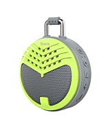 cheap -BS17 Bluetooth Speaker Waterproof Bluetooth 4.1 USB Outdoor Speaker Green Yellow