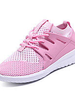 cheap -Girls' Shoes Rubber Spring Comfort Athletic Shoes Walking Shoes for Pink / Black / White / Royal Blue