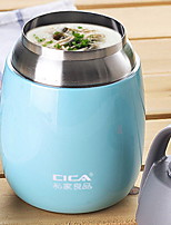 abordables -Drinkware Acier inoxydable / Le gel de silice / PP+ABS Vacuum Cup Portable / Athermiques 1pcs