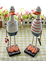 cheap -2pcs Wood Modern / ContemporaryforHome Decoration, Home Decorations Gifts