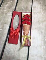 abordables -Fleurs artificielles 1 Une succursale Fleurs de mariage Oeillets Fleur de Table
