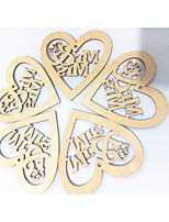 abordables -Mariage / Fiançailles En bois Décorations de Mariage Thème plage / Thème jardin / Thème Vegas Toutes les Saisons