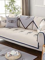 abordables -Housse de canapé Géométrique Matelassé Polyester / Coton Literie