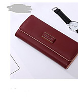 cheap -Women's Bags PU Wallet Buttons for Event / Party Blue / Red / Purple
