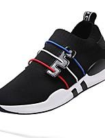cheap -Men's Shoes Net / Tulle Summer Comfort / Light Soles Sneakers White / Black / Red