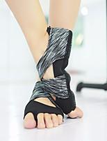 abordables -Femme Chaussures de Ballet Satin Plate / Basket Talon Cubain Chaussures de danse Noir / Violet / Utilisation / Entraînement