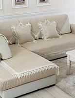 baratos -almofada do sofá Sólido Impressão Reactiva Poliéster Capas de Sofa