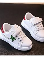Недорогие -Мальчики Обувь Полиуретан Весна Удобная обувь Кеды для Красный / Синий