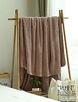 baratos -Flanela, Impressão Reactiva Simples Algodão / Poliéster cobertores