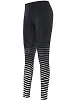 baratos -Mulheres Leggings de Corrida - Azul, Preto / Vermelho, Vinho Esportes Meia-calça / Leggings Roupas Esportivas Secagem Rápida