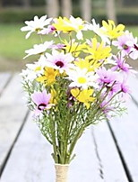 cheap -Artificial Flowers 1 Branch Wedding Flowers Chrysanthemum Tabletop Flower
