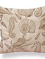 cheap -6 pcs Textile / Cotton / Linen Pillow case, Art Deco / Simple / Printing Square Shaped / Lovely