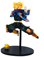 cheap -Anime Action Figures Inspired by Dragon Ball Son Goku PVC 21cm CM Model Toys Doll Toy