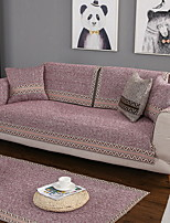 cheap -Sofa Cover Solid Colored Reactive Print Polyester / Cotton Slipcovers