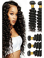 cheap -Peruvian Hair Wavy Natural Color Hair Weaves / Human Hair Extensions Human Hair Weaves Best Quality / New Arrival / For Black Women
