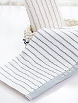 abordables -Style frais Serviette, Rayé Qualité supérieure 100% Coton 100% coton 1pcs