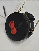 cheap -Women's Bags PU Shoulder Bag Zipper Blushing Pink / Beige / Gray
