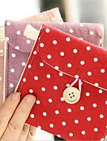 baratos -Mulheres Bolsas Algodão Bolsa de Mão Botões para Ao ar livre Rosa