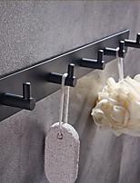 abordables -Crochet à Peignoir Multifonction Moderne Aluminium 1pc - Salle de Bain Montage mural