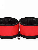 cheap -8L L Dogs / Cats / Pets Feeders Pet Bowls & Feeding Portable / Mini / Camping & Hiking Black / Red / Green