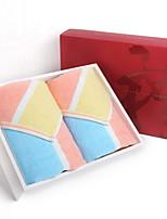 abordables -Qualité supérieure Serviette, Couleur Pleine / Ecossais / à Carreaux 100% Coton 1 pcs