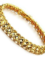 cheap -Men's Women's 1 Chain Bracelet - Fashion Geometric Gold Bracelet For Gift Daily